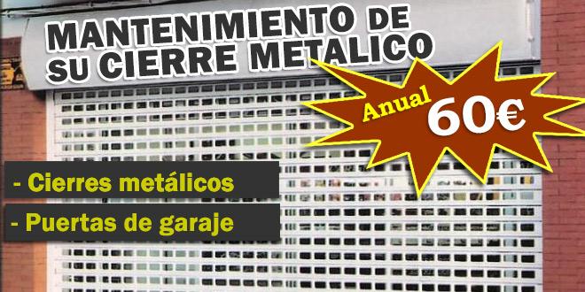 reparaciones urgentes de cierres metalicos
