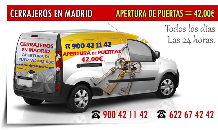 Cerrajeros urgencias madrid 24 h linea gratuita 900 42 11 42 for Cerrajeros de urgencias madrid