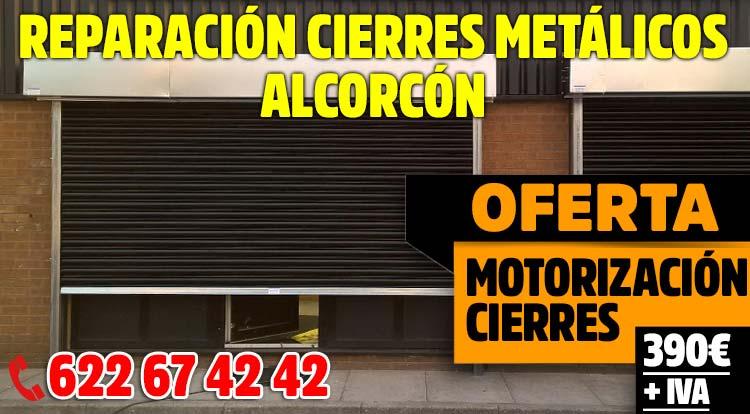 reparacion cierres metalicos Alcorcon