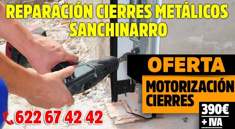 reparacion cierres metalicos Sanchinarro