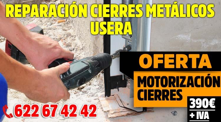 reparacion cierres metalicos Usera