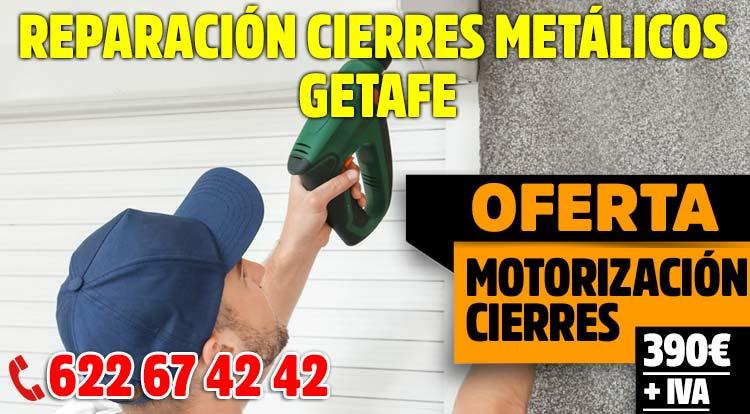 reparacion cierres metalicos Getafe
