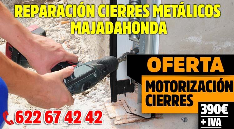 reparacion cierres metalicos Majadahonda